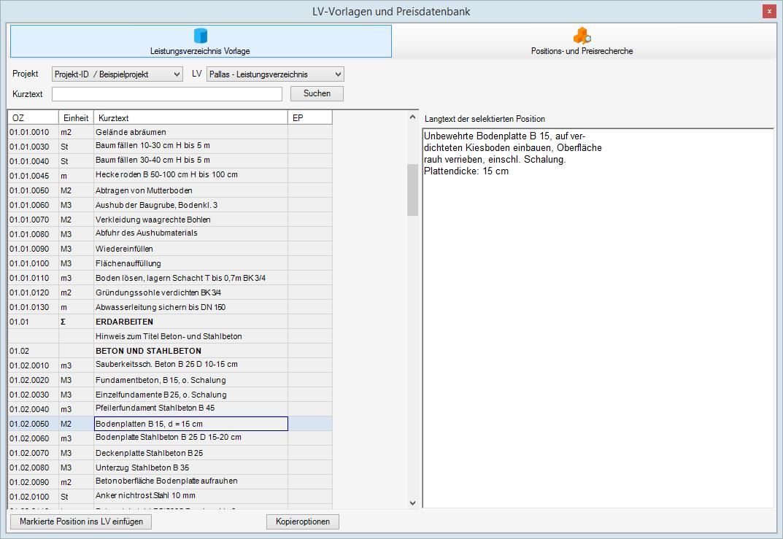 Pallas® AVA-Software Handbuch